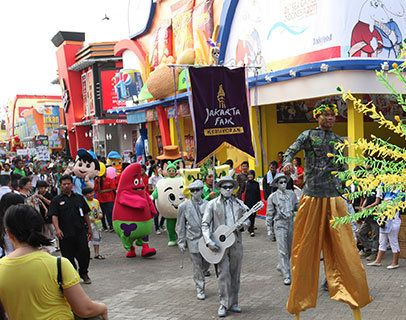 Kemeriahan PRJ (Jakarta Fair)