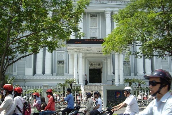 Salah satu gedung pemerintahan di HCMC (Sulistio/ dTraveler)
