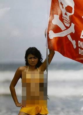 Beredar! Foto Bikini Mirip Indah Dewi Pertiwi