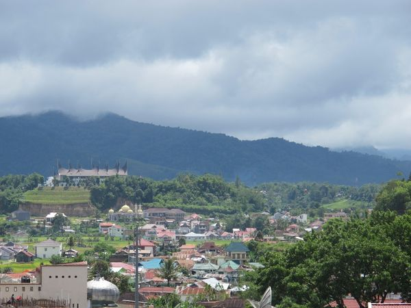 Kota Bukittinggi dari ketinggian (Afif/detikTravel)