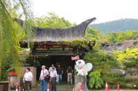 Suasana di Butterfly Farm Penang (Avi/detikTravel)