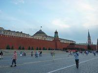 Lapangan Merah di Moskow. (Daniel/detikTravel)