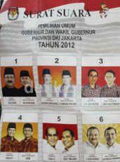 Di Kawasan Elite Pondok Indah, Jokowi Jawara Diikuti Foke