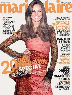 Marie Claire Merekayasa Foto Kate Middleton untuk Cover