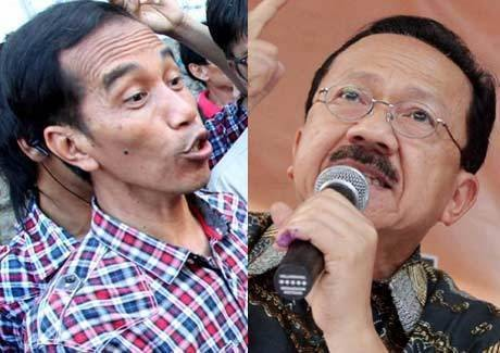 Jenguk Habib Munzir di RSCM, Foke-Jokowi Salaman