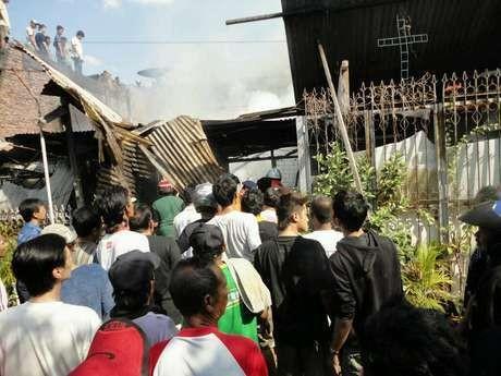 Identifikasi 7 Korban Kebakaran di Semarang Selesai, 1 Korban Dimakamkan