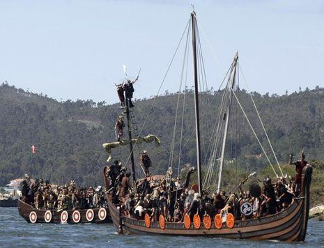 Keren! Perang Viking Digelar di Spanyol