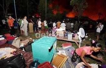 Kebakaran di Benhil karena HP yang Meledak Saat Di-charge