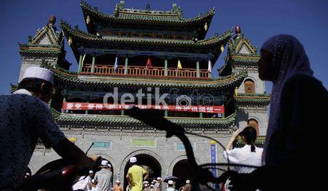 Indahnya Mesjid Naungan Yinchuan Mesjid Tertua Di China