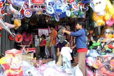 Pasar Gembrong, Surganya Mainan Anak-anak