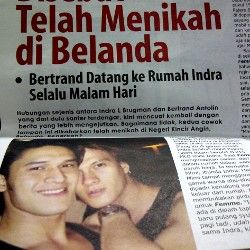 Dikabarkan Nikah dengan Bertrand, Indra Brugman Masih Suka Cewek