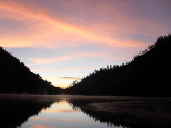 Sunset di Ranu Kumbolo - Java Jalan
