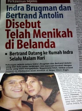 Indra & Bertrand Dikabarkan Menikah, Krisna Mukti Harap Mereka Kuat