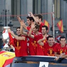 Bonus Bir Sesuai Berat Badan untuk Pemain Timnas Spanyol