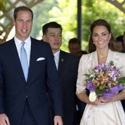 Pangeran William dan Kate Middleton di Singapura