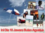 Ini Dia 10 Jawara Bulan Agustus