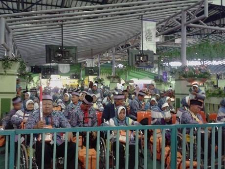 Menag dan Menhub Lepas Kloter 1 Jamaah Haji Embarkasi Jakarta