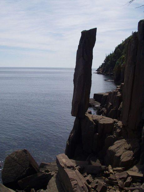 Balancing Rock di Kanada