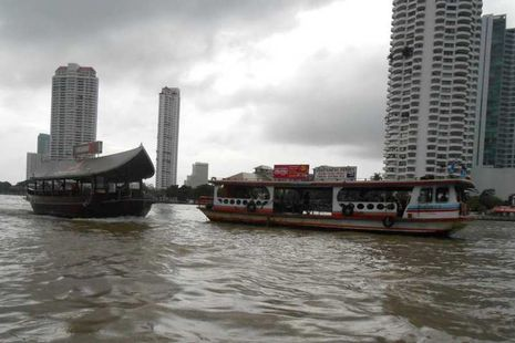 Sungai Chao Phraya, Bangkok Banget