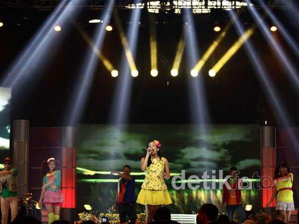 Idola Cilik Ramaikan Konser Coboy Junior