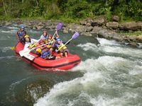 Ke Yogya-Magelang, Coba Rafting dan Mobil Off Road