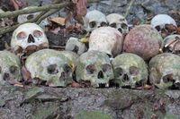 Tak ada mayat yang dikubur di desa ini. Kremasi lewat upacara