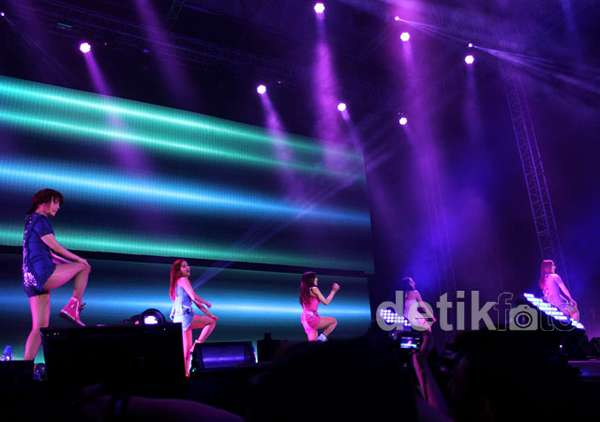 Wonderful Concert dari Wonder Girls