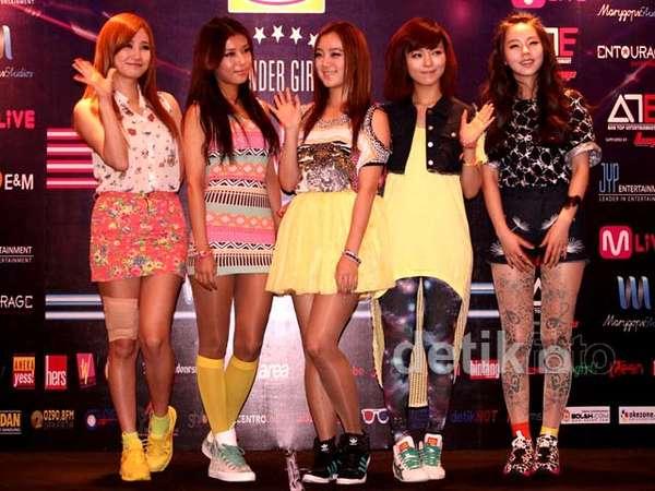 Wonder Girls Tampil Lagi di Indonesia