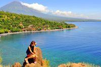 Lekuk Seksi Garis Pantai Amed, Bali
