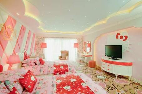 4 Hotel Unyu untuk Cewek, Dari Hello Kitty Sampai Barbie