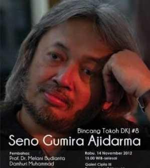 Yuk, Berbincang dengan Seno Gumira Ajidarma!
