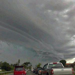 Warga Ciawi Tak Lihat Hal Aneh di Langit, Foto Awan Naga Hoax!