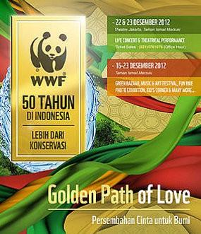 \Golden Path of Love\, Pagelaran Penuh Cinta untuk Bumi Tersayang