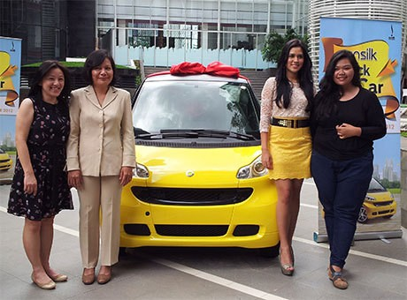 Inilah Dua Pemenang Utama Sunsilk Click The Car