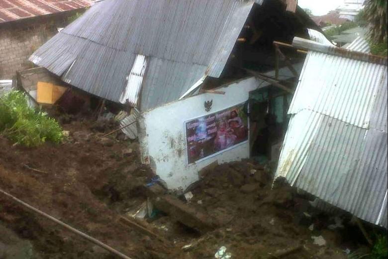 4 Rumah di Manado Diterjang Longsor, 2 Orang Tewas
