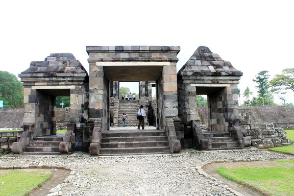 Gerbang Ratu Boko(Foto:Wendy S)