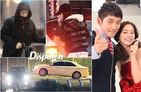 Rain Pacaran dengan Kim Tae Hee!