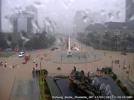 Pintu Air Manggarai Capai 1.020 Cm, Istana Siap Hadapi Banjir