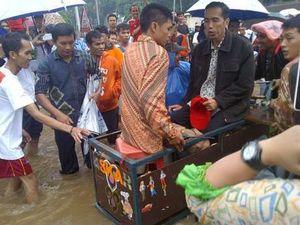 Jakarta Dikepung Banjir, PDIP: Jokowi Bukan Tukang Sulap!