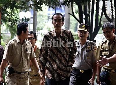 Jokowi Setuju Ibukota Dipindah Jika Banjir Tak Teratasi