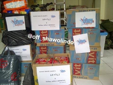 Fans SHINee Ikut Donasi untuk Korban Banjir Jakarta