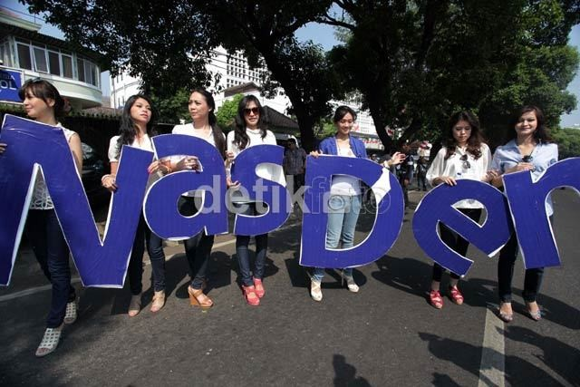 Para Pengurus Partai NasDem DKI dan Jakarta Raya Mundur