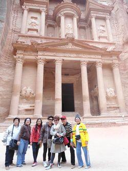 Menemukan Harta Karun Indiana Jones di Petra, Yordania