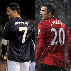 MU vs Madrid, Kuncinya di Van Persie dan CR7