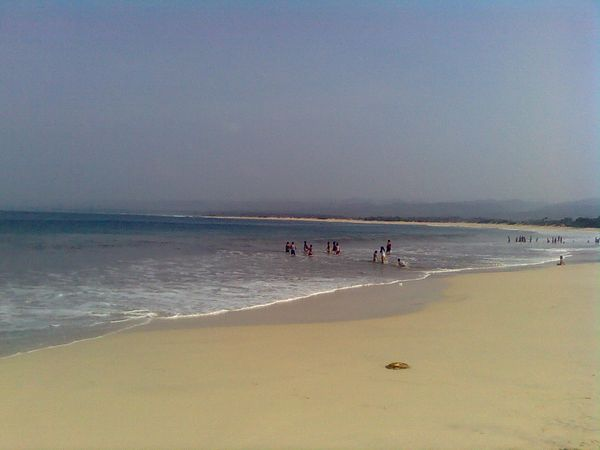 Pantai Santolo,Cantiknya Kuta ala Garut