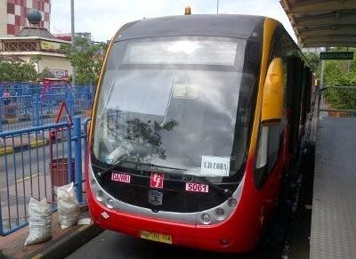 36 Bus TransJ Siap Layani Koridor 12 Pluit - Tanjung Priok