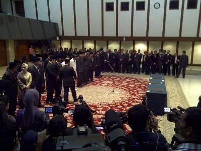 Lantik Pejabat Baru Pemprov, Jokowi: Tak Ada Lagi Tempat Basah atau Kering