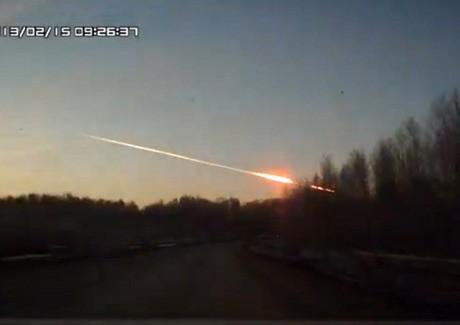 Ini Penjelasan NASA Mengenai Meteor yang Jatuh di Rusia