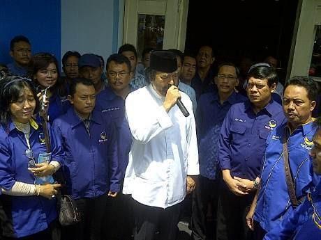 Partai NasDem Launching Pendaftaran Caleg se-Indonesia di Bandung