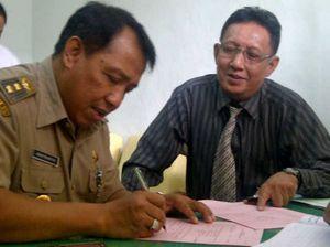 Wawali Magelang Diadili Terkait KDRT, Ratusan Pendukung Padati PN